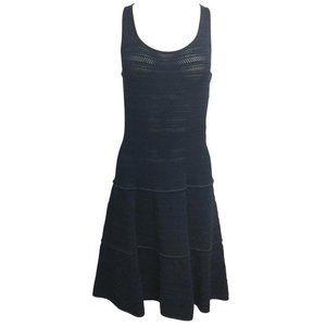Ralph Lauren Black Label Navy Blue Viscose Dress